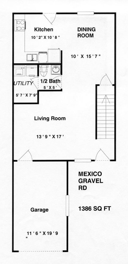 3 Bedrooms 2 Bathrooms Apartment for rent at Mexico Gravel in Columbia, MO