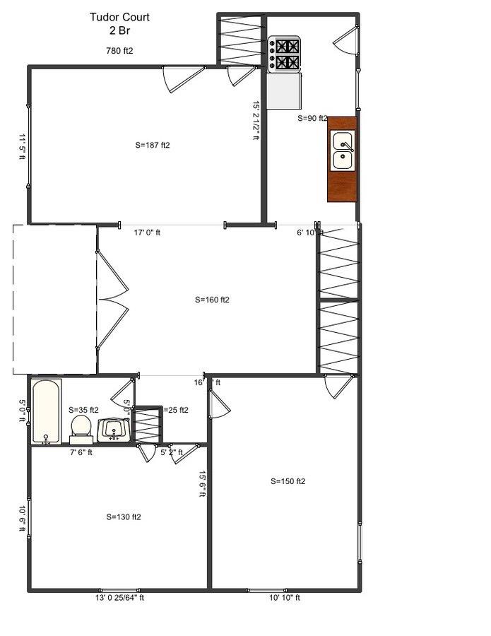 2 Bedrooms 1 Bathroom Apartment for rent at Tudor Court in Cincinnati, OH