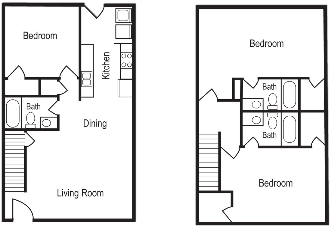 3 Bedrooms 3 Bathrooms Apartment for rent at Woodsong Village in Athens, GA
