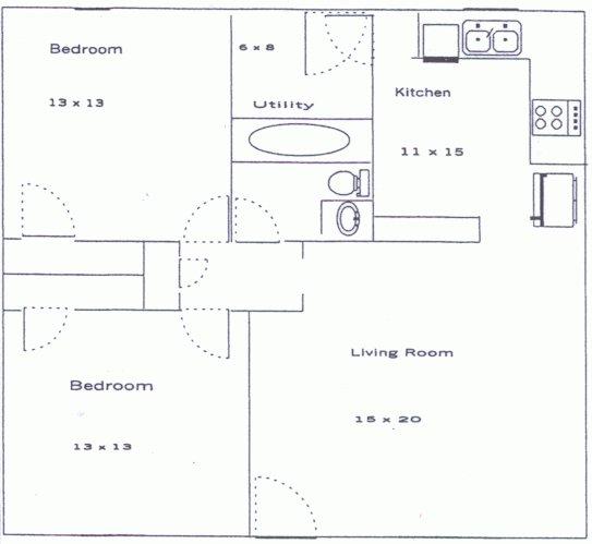 2 Bedrooms 1 Bathroom House for rent at Deer Creek Drive in Athens, GA