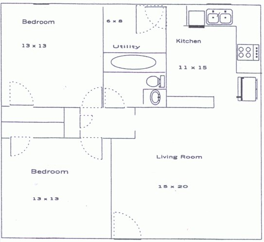 2 Bedrooms 1 Bathroom House for rent at Cooper Springs Ct in Athens, GA