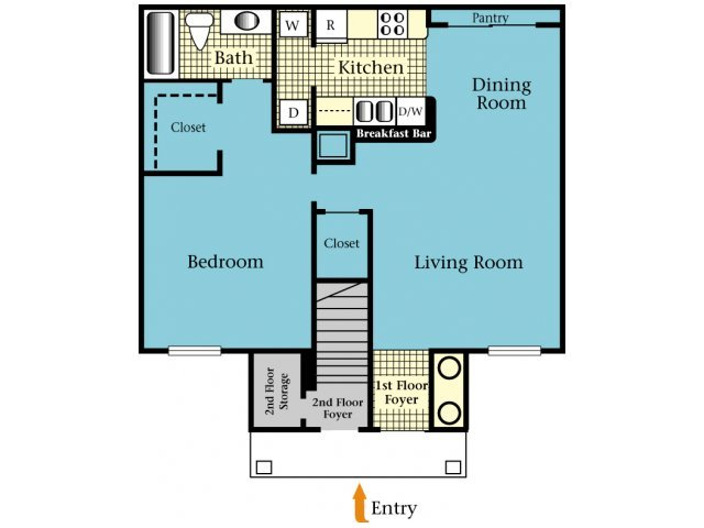 1 Bedroom 1 Bathroom Apartment for rent at Harbor Cove in Gainesville, FL