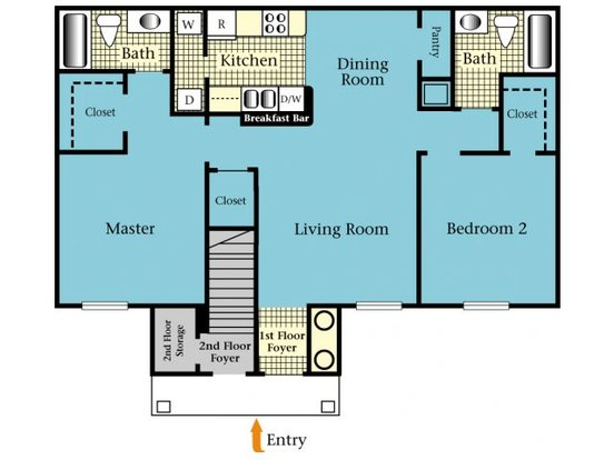 2 Bedrooms 2 Bathrooms Apartment for rent at Harbor Cove in Gainesville, FL