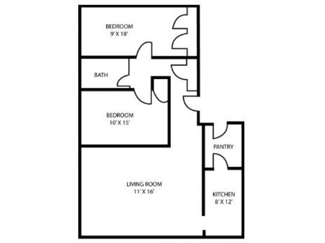 2 Bedrooms 2 Bathrooms Apartment for rent at The Charles in Baltimore, MD
