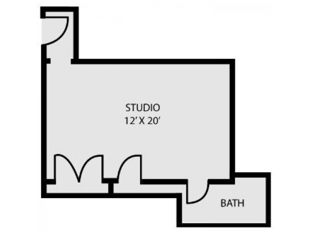 Studio 1 Bathroom Apartment for rent at The Charles in Baltimore, MD