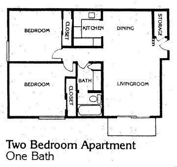 2 Bedrooms 1 Bathroom Apartment for rent at Mont Michel Apartments in Cincinnati, OH
