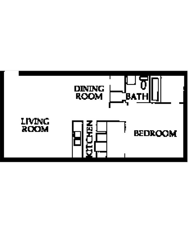 1 Bedroom 1 Bathroom Apartment for rent at Partridge Meadows in Louisville, KY