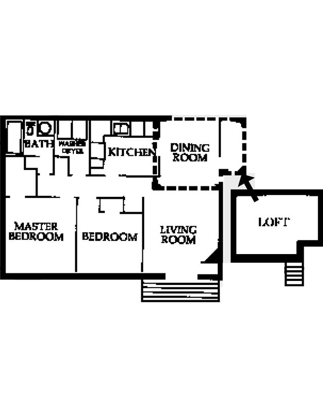 2 Bedrooms 1 Bathroom Apartment for rent at Partridge Meadows in Louisville, KY