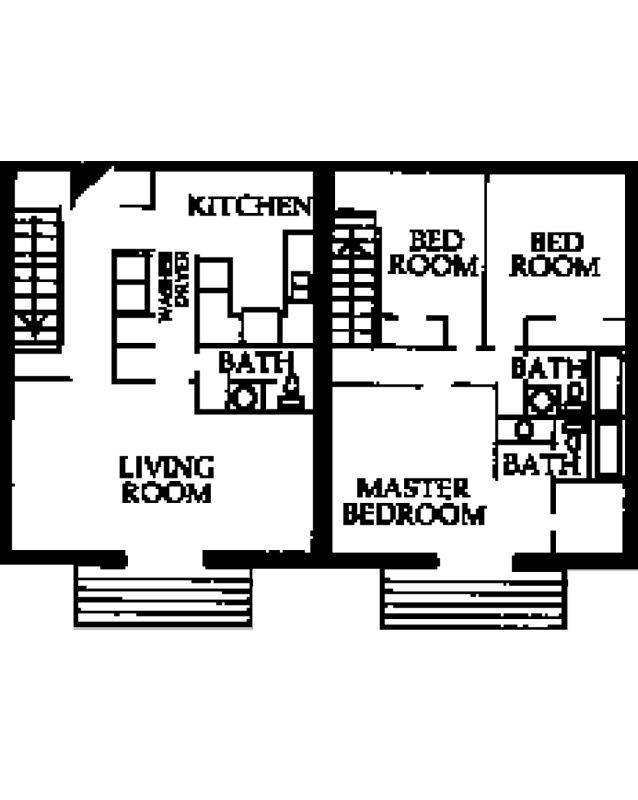 3 Bedrooms 2 Bathrooms Apartment for rent at Partridge Meadows in Louisville, KY