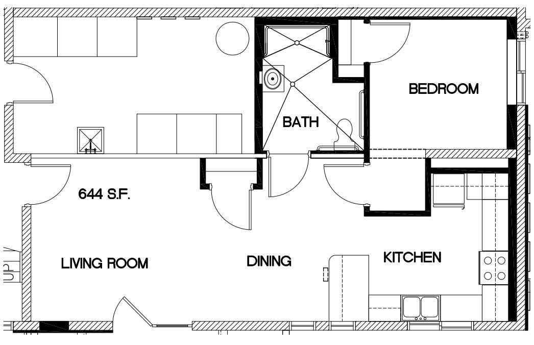 1 Bedroom 1 Bathroom Apartment for rent at Oak Park Apartments in Cincinnati, OH