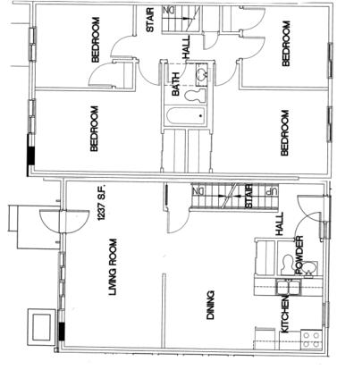 4 Bedrooms 2 Bathrooms Apartment for rent at Oak Park Apartments in Cincinnati, OH