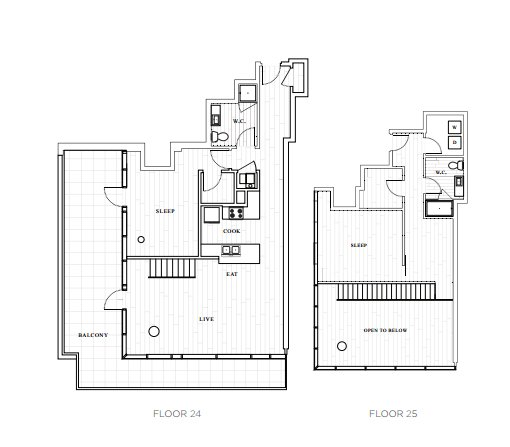 2 Bedrooms 2 Bathrooms Apartment for rent at The Tower At Opop in St Louis, MO
