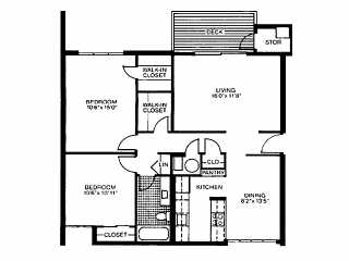 2 Bedrooms 1 Bathroom Apartment for rent at The Reserve At The Pines in Cincinnati, OH