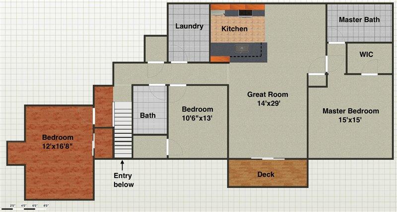 3 Bedrooms 2 Bathrooms Apartment for rent at 1921 Addington Ln in Ann Arbor, MI