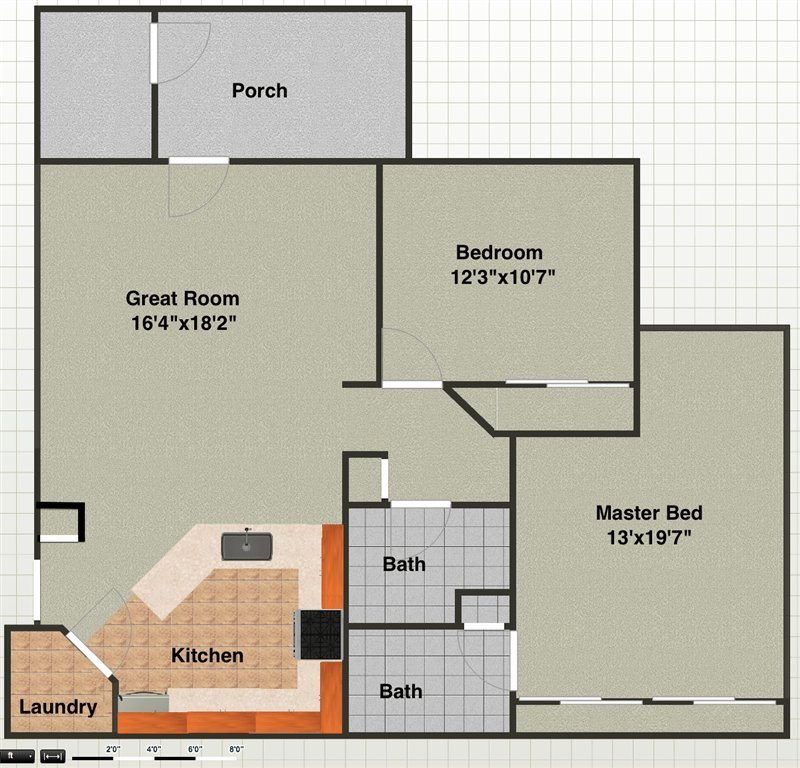 2 Bedrooms 2 Bathrooms Apartment for rent at 1131 Joyce Ln in Ann Arbor, MI