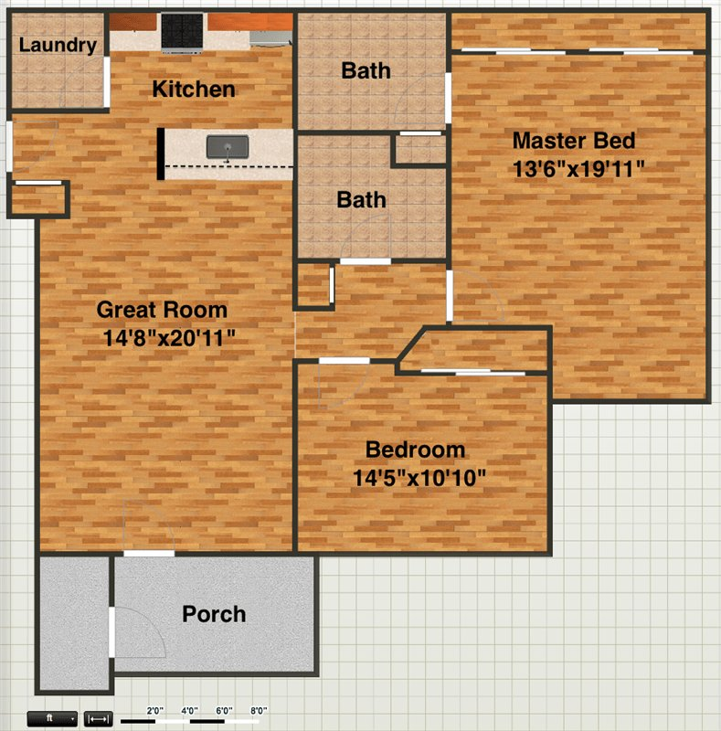 2 Bedrooms 2 Bathrooms Apartment for rent at 1073 Joyce Ln in Ann Arbor, MI