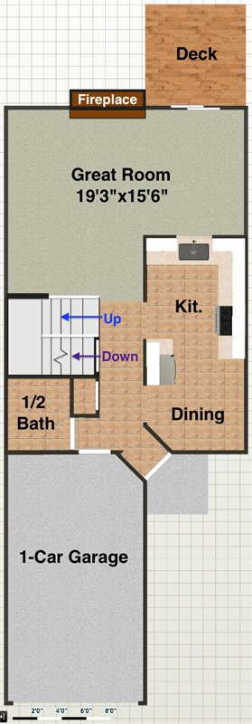 2 Bedrooms 3 Bathrooms Apartment for rent at 3430 Bent Trail Drive in Ann Arbor, MI