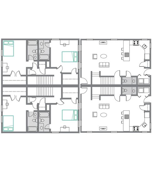 2 Bedrooms 2 Bathrooms Apartment for rent at The Ikon in Athens, GA