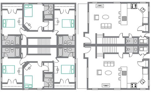 3 Bedrooms 3 Bathrooms Apartment for rent at The Ikon in Athens, GA
