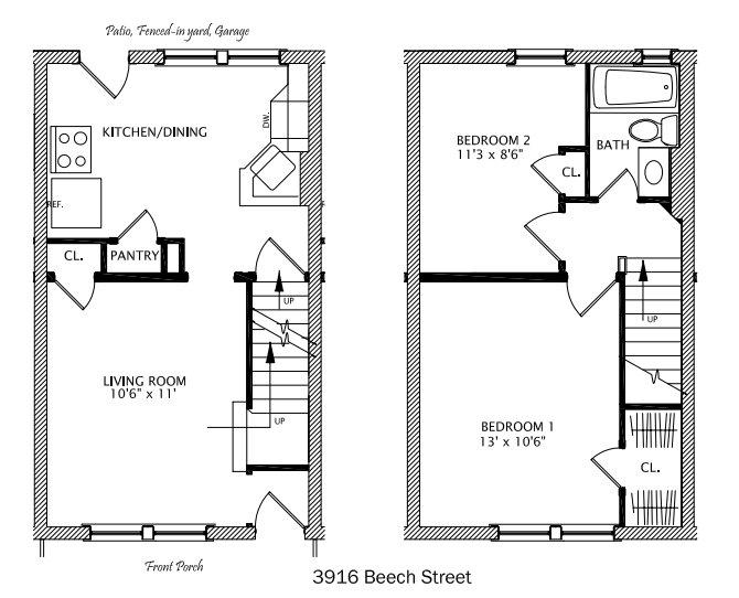 2 Bedrooms 1 Bathroom Apartment for rent at Beech Ii in Cincinnati, OH