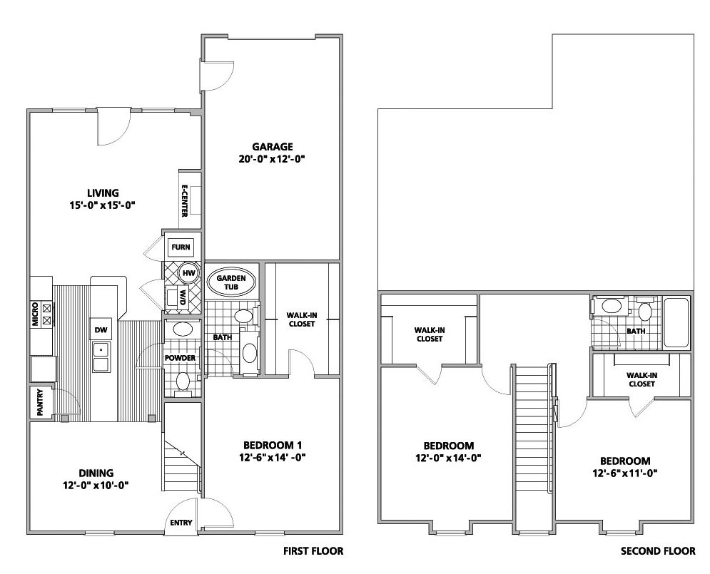 3 Bedrooms 2 Bathrooms Apartment for rent at Chelsea Place in Toledo, OH