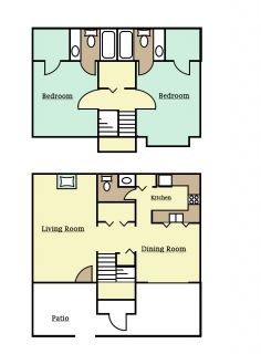 2 Bedrooms 2 Bathrooms Apartment for rent at Park Hill in Lexington, KY