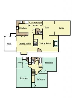 3 Bedrooms 3 Bathrooms Apartment for rent at Park Hill in Lexington, KY