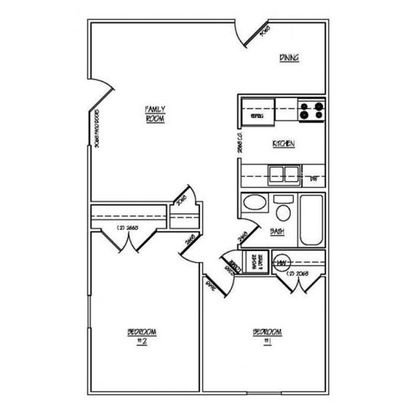 2 Bedrooms 1 Bathroom Apartment for rent at Park Lake in Louisville, KY