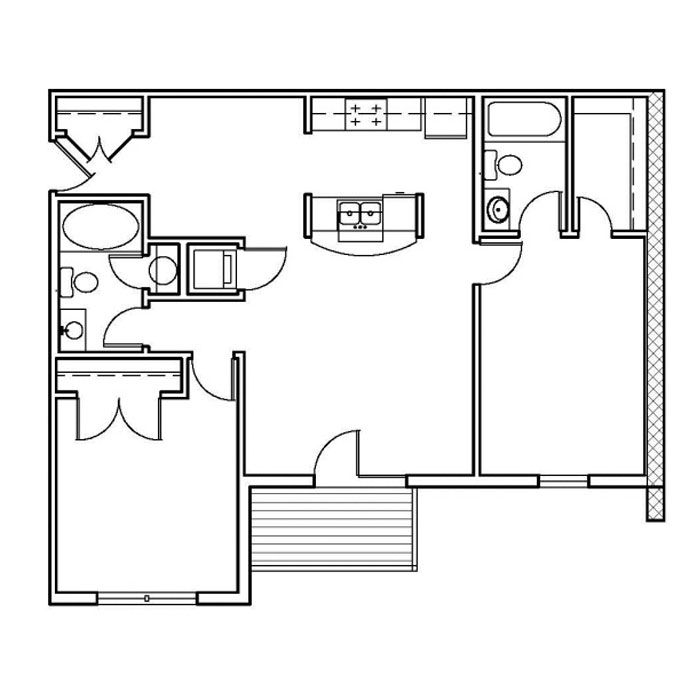 2 Bedrooms 2 Bathrooms Apartment for rent at Park Lake in Louisville, KY