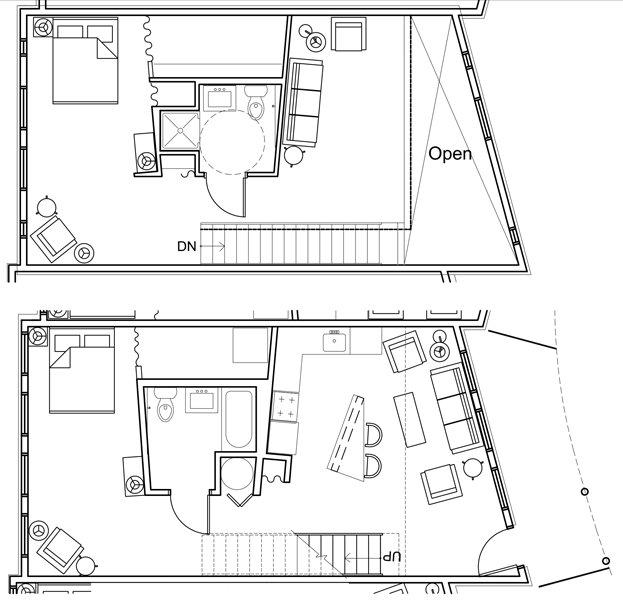 2 Bedrooms 2 Bathrooms Apartment for rent at Artek Lofts in Lexington, KY