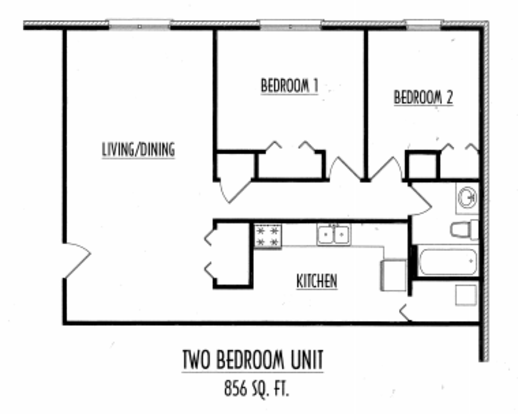 2 Bedrooms 1 Bathroom Apartment for rent at Belmont Run in Lexington, KY