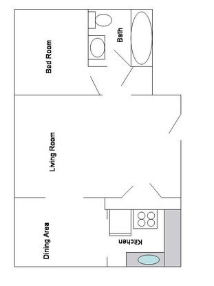 1 Bedroom 1 Bathroom Apartment for rent at The Alps Apartments in Kansas City, MO