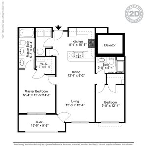 2 Bedrooms 2 Bathrooms Apartment for rent at The Retreat At Tiffany Woods in Kansas City, MO