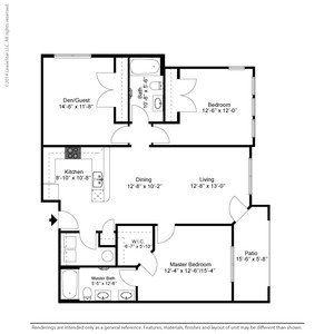 3 Bedrooms 2 Bathrooms Apartment for rent at The Retreat At Tiffany Woods in Kansas City, MO