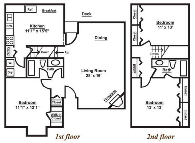 3 Bedrooms 2 Bathrooms Apartment for rent at Viera Anchorage in Louisville, KY