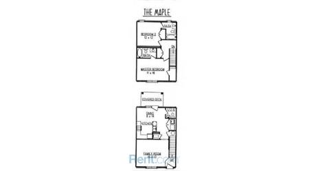 2 Bedrooms 3 Bathrooms Apartment for rent at Eagle Creek Townhomes in Lexington, KY