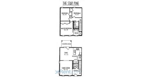 3 Bedrooms 2 Bathrooms Apartment for rent at Eagle Creek Townhomes in Lexington, KY