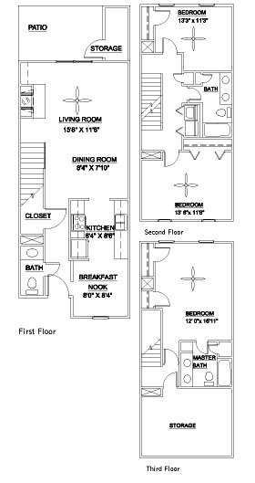 3 Bedrooms 3 Bathrooms Apartment for rent at Lenox East & West in Durham, NC