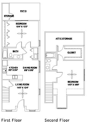 2 Bedrooms 2 Bathrooms Apartment for rent at Taylor's Pond in Durham, NC