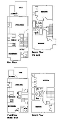 2 Bedrooms 3 Bathrooms Apartment for rent at Fox Chase & Lochridge in Durham, NC