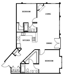 2 Bedrooms 2 Bathrooms Apartment for rent at Sutton Station in Durham, NC