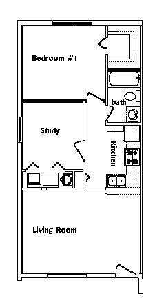 2 Bedrooms 1 Bathroom Apartment for rent at Savannah Place in Gainesville, FL