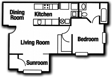 St augustine hills apartments tallahassee fl for 1 bedroom apartments in st augustine fl