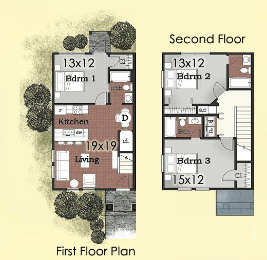 3 Bedrooms 3 Bathrooms Apartment for rent at University Green in Tallahassee, FL