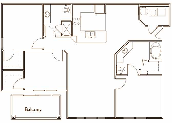 3 Bedrooms 2 Bathrooms Apartment for rent at Jamison At Brier Creek in Raleigh, NC