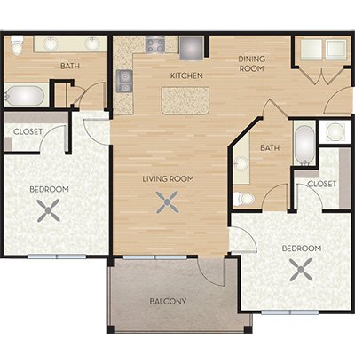 2 Bedrooms 2 Bathrooms Apartment for rent at Wiregrass At Stone Oak in San Antonio, TX