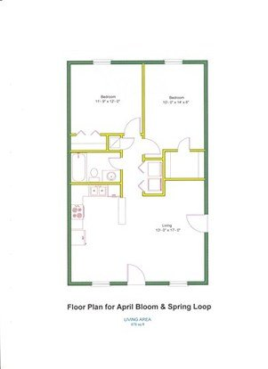 2 Bedrooms 1 Bathroom Apartment for rent at 1208 April Bloom in College Station, TX