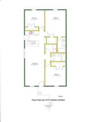 3 Bedrooms 2 Bathrooms Apartment for rent at 2111 Hidden Hollow in College Station, TX