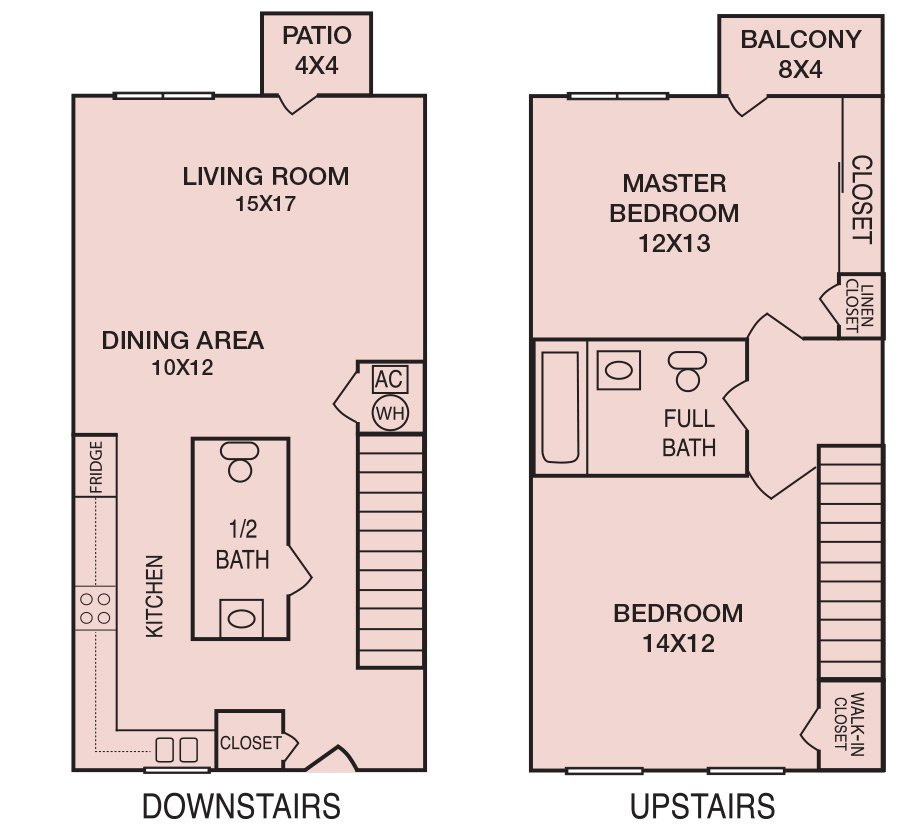2 Bedrooms 2 Bathrooms Apartment for rent at Georgetown Apartments in Tallahassee, FL