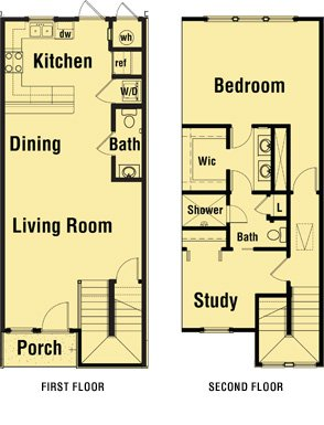 1 Bedroom 2 Bathrooms Apartment for rent at Mission Overlook in Tallahassee, FL